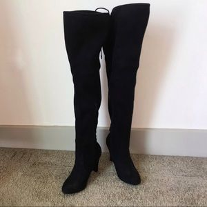 🌻 Target Thigh High Suede Black Boots